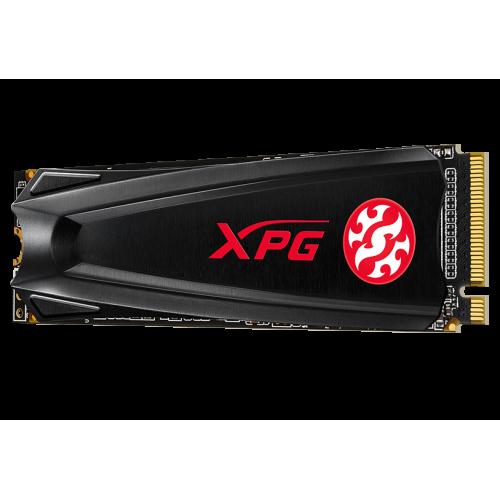 Фото SSD-диск ADATA XPG GAMMIX S5 3D NAND TLC 256GB M.2 (2280 PCI-E) NVMe 1.3 (AGAMMIXS5-256GT-C)