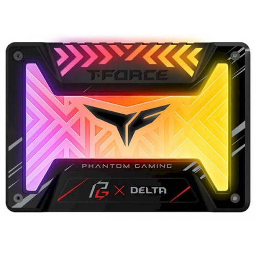 "Фото SSD-диск Team T-Force Delta Phantom Gaming RGB 250GB 2.5"" (T253PG250G3C313)"