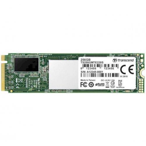 Фото SSD-диск Transcend 220S 3D NAND 256GB M.2 (2280 PCI-E) NVMe x4 (TS256GMTE220S)