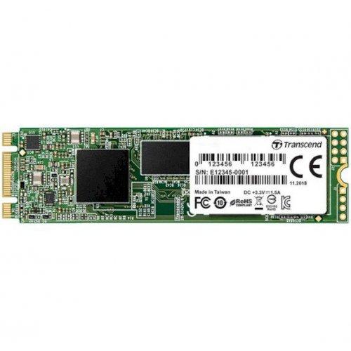 Фото SSD-диск Transcend MTS830S 3D NAND 128GB M.2 (2280 SATA) (TS128GMTS830S)
