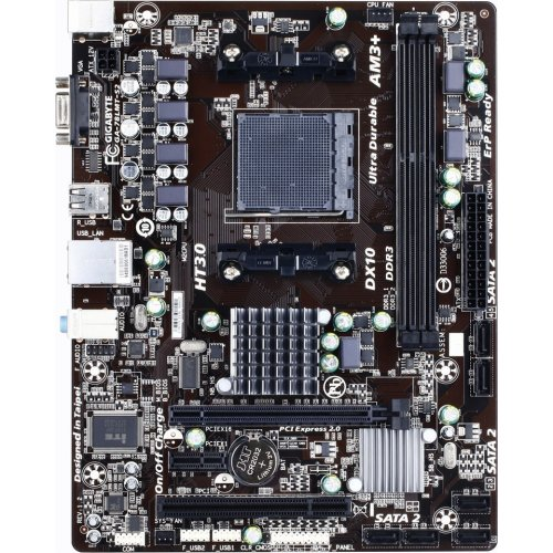 Фото Материнская плата Gigabyte GA-78LMT-S2 (sAM3+, AMD 760G)