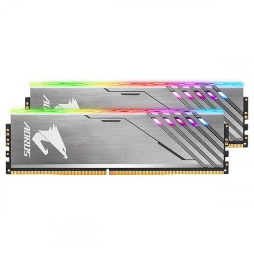 Фото ОЗУ Gigabyte DDR4 16GB (2x8GB) 3200Mhz AORUS RGB (GP-AR32C16S8K2HU416R)
