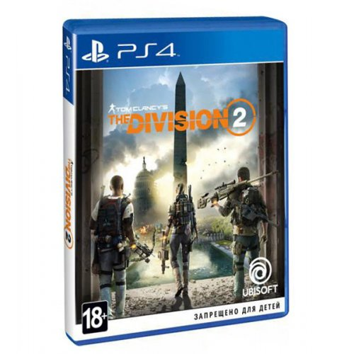 Tom Clancy's. The Division 2 (PS4) Blu-ray (8113407)