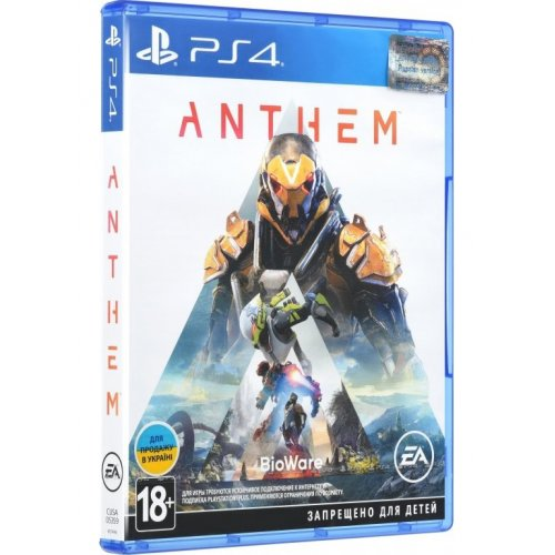 Anthem (PS4) Blu-ray (6121496)