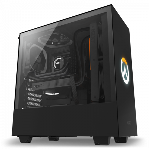 Фото Корпус NZXT H500 Overwatch Special Edition (CA-H500B-OW) Black