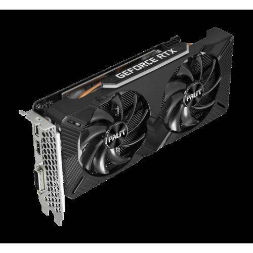 Фото Видеокарта Palit GeForce RTX 2060 Dual 6144MB (NE62060018J9-1160A)