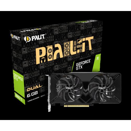 Фото Palit GeForce GTX 1660 Ti Dual 6144MB (NE6166T018J9-1160A)