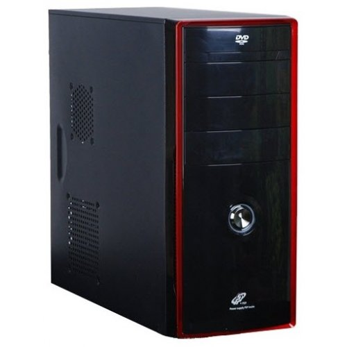 Фото Корпус FSP C7526 450W (FSP-7526_QD450) Black/red
