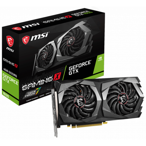 Фото MSI GeForce GTX 1650 GAMING X 4096MB (GTX 1650 GAMING X 4G)