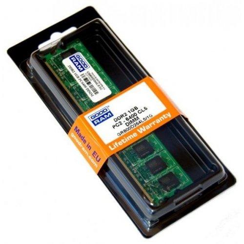 Фото ОЗУ GoodRAM DDR2 1GB 800Mhz (GR800D264L6/1G)