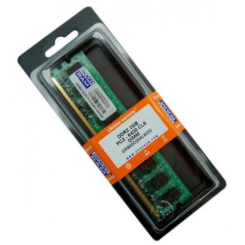 Фото ОЗУ GoodRAM DDR2 2GB 800Mhz (GR800D264L6/2G)