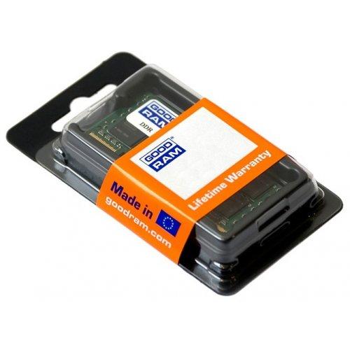 Фото ОЗУ GoodRAM SODIMM DDR3 4GB 1600Mhz (GR1600S364L11/4G)