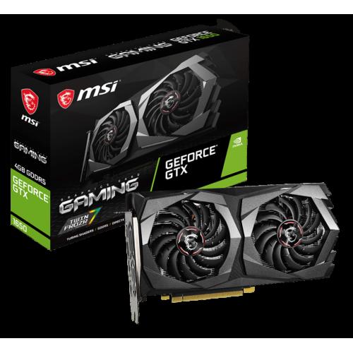 Фото Видеокарта MSI GeForce GTX 1650 GAMING 4096MB (GTX 1650 GAMING 4G)