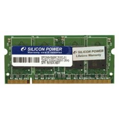 Фото ОЗУ Silicon Power SODIMM DDR2 1GB 667Mhz (SP001GBSRU667O02)