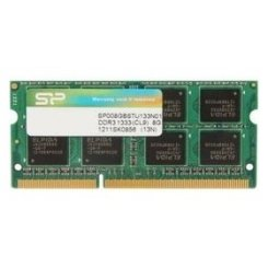 Фото ОЗУ Silicon Power SODIMM DDR3 8GB 1333Mhz (SP008GBSTU133N01)