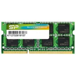 Фото ОЗУ Silicon Power SODIMM DDR3 8GB 1600Mhz (SP008GBSTU160N01)