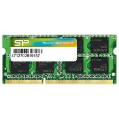 Фото ОЗУ Silicon Power SODIMM DDR3 8GB 1600Mhz (SP008GBSTU160N02)