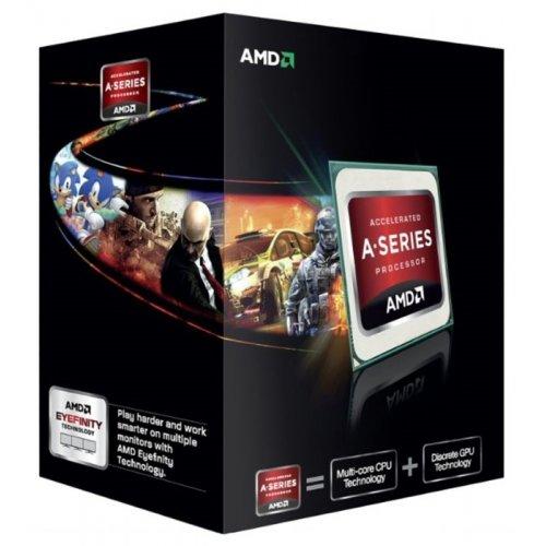 Фото Процессор AMD A6-5400K 3.6Ghz 1MB sFM2 Box (AD540KOKHJBOX)