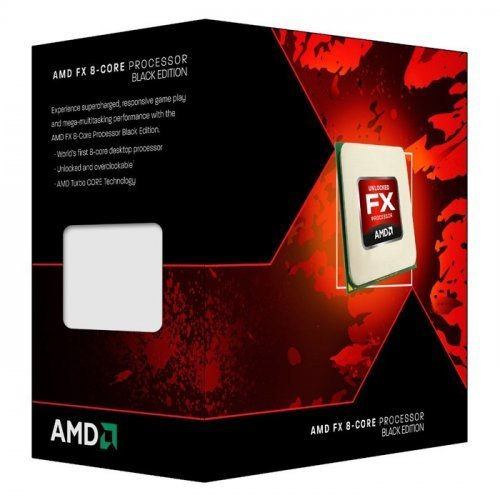 Фото Процессор AMD FX-8350 4.0GHz 8MB sAM3+ Box (FD8350FRHKBOX)