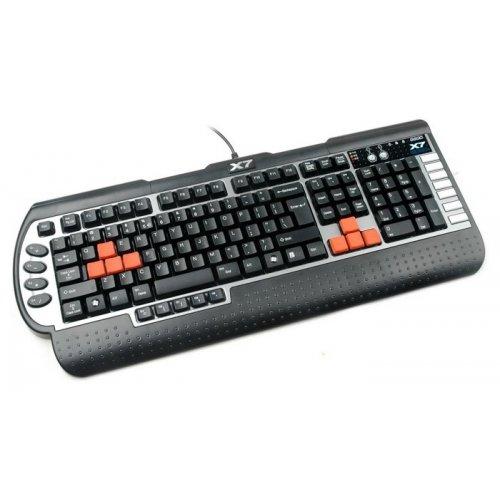 Фото Клавиатура A4Tech G-800MU PS/2 Black