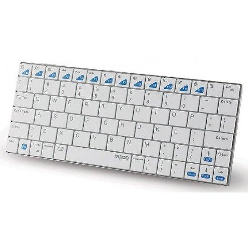 Фото Клавиатура Rapoo IPad E6300 wireless Bluetooth White