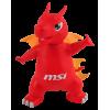 Фото Коллекционная фигурка MSI Lucky Figure ROTOCAST Red
