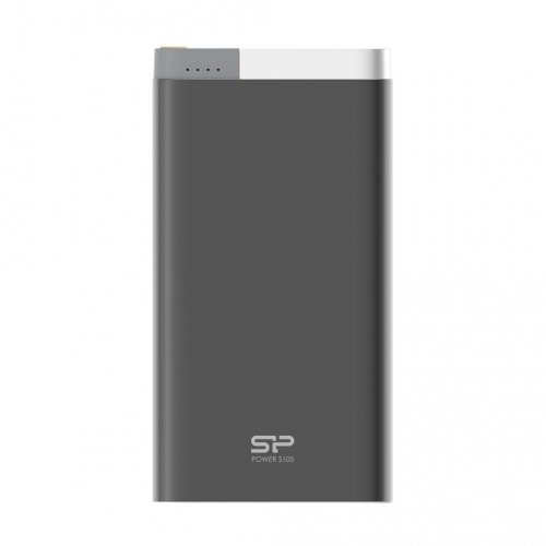 Фото Внешний аккумулятор Silicon Power Power Bank S105 10000 mAh (SP10KMAPBK105P0K) Black
