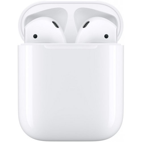 Фото Bluetooth-гарнитура Apple AirPods 2 with Charging Case (MV7N2) White