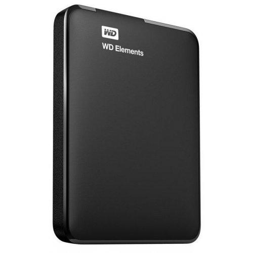 Фото Внешний HDD Western Digital My Elements Portable 500GB WDBUZG5000ABK-EESN Black