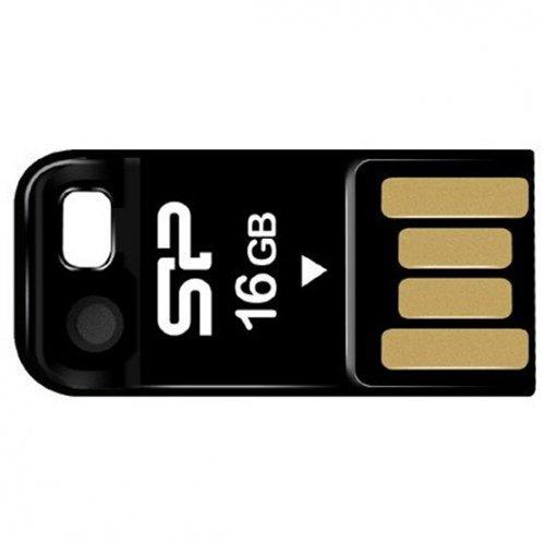 Фото Накопитель Silicon Power Touch T02 16GB Black (SP016GBUF2T02V1K)