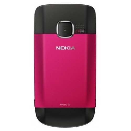 Фото Мобильный телефон Nokia C3-00 Hot Pink