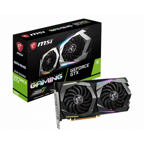 Фото MSI GeForce GTX 1660 Gaming 6144MB (GTX 1660 GAMING 6G)