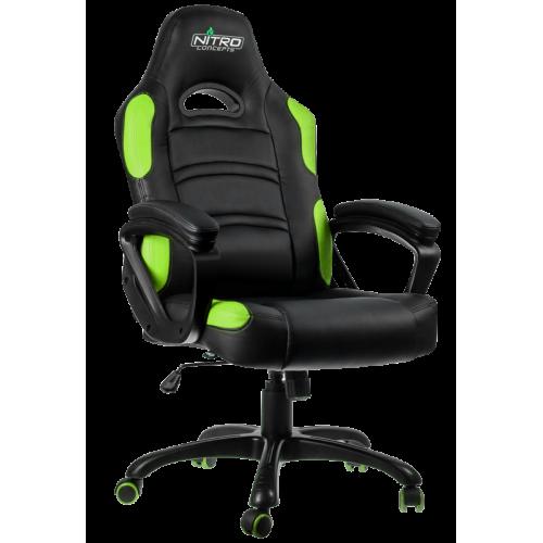Фото Игровое кресло GAMEMAX GCR07-Nitro Concepts Black/Green
