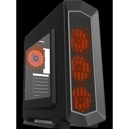 Фото Корпус GAMEMAX G516 Asgard Window без БП Red