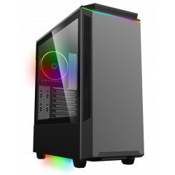 Фото Корпус GAMEMAX T801 Paladin ARGB Window без БП Black