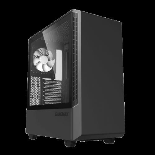 Фото GAMEMAX T802-E Panda ECO ARGB Tempered Glass без БП Black/Silver