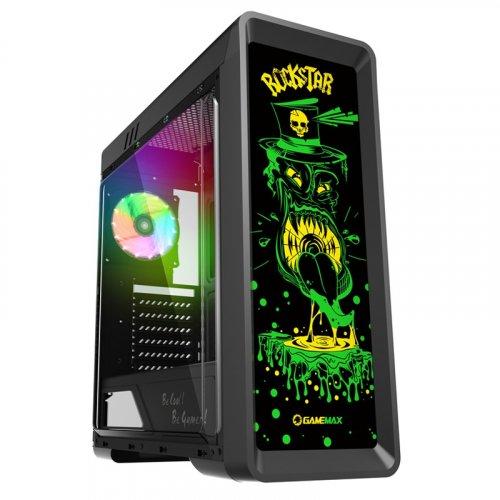 Фото GAMEMAX G515 RockStar RGB Window без БП Black
