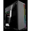 Фото Корпус GAMEMAX G517 Shine Rainbow LED Tempered Glass без БП Black