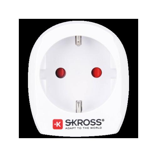 Фото Сетевой фильтр SKROSS World Adapter Europe to USA (1.500203-E) White