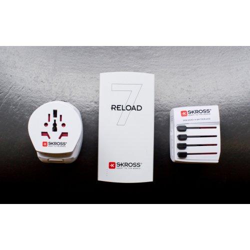 Фото Сетевой фильтр SKROSS Pro Light USB World (1.302555-G) White