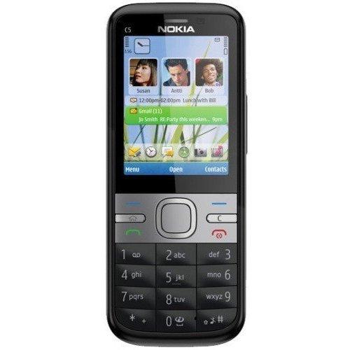 Фото Мобильный телефон Nokia C5-00 Black