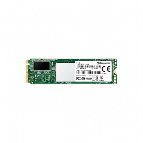 Фото SSD-диск Transcend 220s 3D NAND 512GB M.2 (2280 PCI-E) NVMe x4 (TS512GMTE220S)