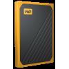 Фото SSD-диск Western Digital My Passport Go 500GB USB 3.0 (WDBMCG5000AYT-WESN) Yellow