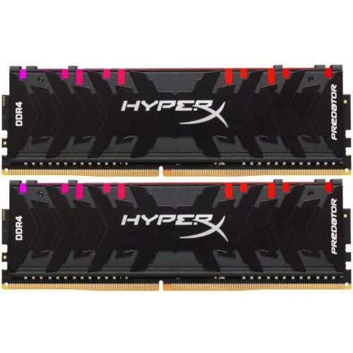 Фото ОЗУ Kingston DDR4 32GB (2x16GB) 3200Mhz HyperX Predator RGB (HX432C16PB3AK2/32)