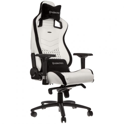 Фото Ігрове крісло Noblechairs EPIC Series (GAGC-085) White/Black