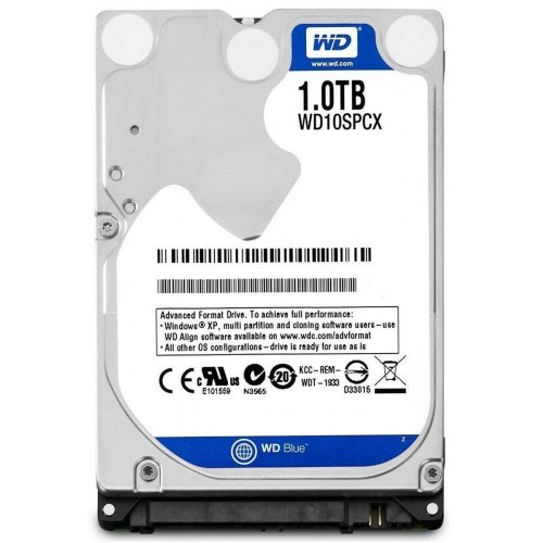 Фото Жесткий диск Western Digital Blue Mobile 1TB 16MB 2.5