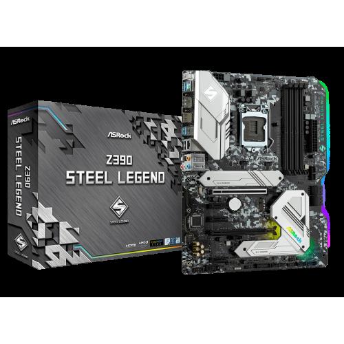 Фото Материнская плата AsRock Z390 Steel Legend (s1151-V2, Intel Z390)