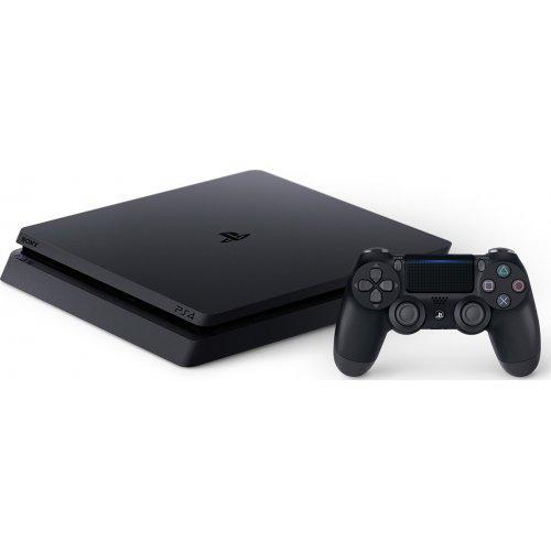Фото Sony PlayStation 4 Slim 1TB HZD+DET+TLOU+PSPlus 3М (CUH-2208B) Black