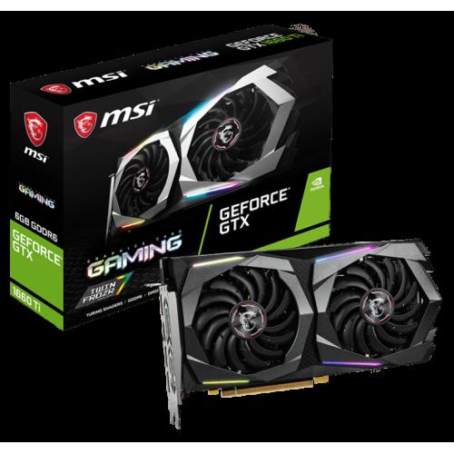 Фото MSI GeForce GTX 1660 Ti Gaming 6144MB (GTX 1660 Ti GAMING 6G)