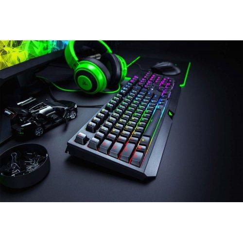 Фото Игровая клавиатура Razer BlackWidow RGB Green Switch (RZ03-02861100-R3R1) Black